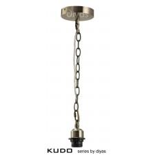 Diyas Kudo Suspension Kit 1 Light Antique Brass