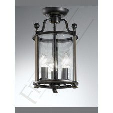 Franklite LA7001/3 Pasillo 3 Light Flushmount Lantern