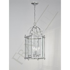 Franklite Madison Lantern Light - 4 Light, Polished Chrome