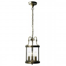 Lambeth Lantern (Dual Mount) - Antique Brass
