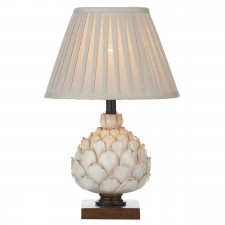 Layer Table Lamp Cream Small complete with Shade