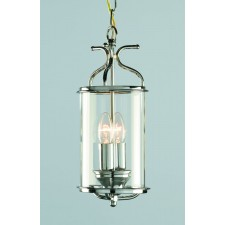 Impex Winchester Lantern Chrome - 2 Light