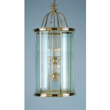 Impex Surrey Lantern Polished Brass - 12 Light