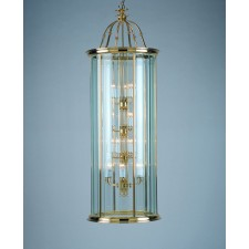 Impex Surrey Lantern Aged - 18 Light