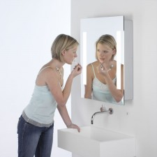 Astro Lighting Livorno Illuminated Mirror Cabinet - 2 Light, Mirror