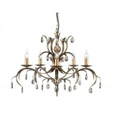 Elstead LL5 ANT BRZ Lily 5 - Light Chandelier Antique Bronze