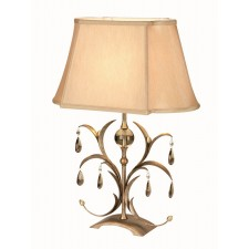 Elstead LL/TL ANT BRZ Lily Table Lamp Antique Bronze