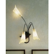 Treviso Wall Lamp - 3 Light, Anthracite