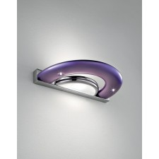 Aragorn LED Wall Light - Nickel, Lilac