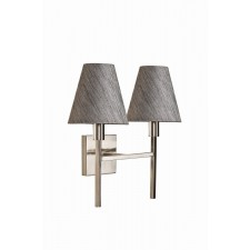 Harlequin Lighting HQ/LUCERNE 2LT Lucerne Two Light Wall Light