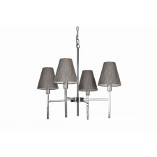 Harlequin Lighting HQ/LUCERNE 4LT Lucerne Four Light Chandelier