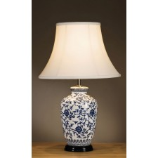 Luis Collection LUI/BLUE G JAR Blue Ginger Jar Table Lamp