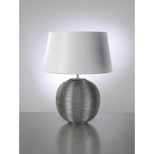 Luis Collection LUI/CAESAR SIL Caesar Silver Table Lamp