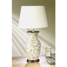 Luis Collection LUI/FORGET-ME Forget-Me-Not Blue Flowers Table Lamp