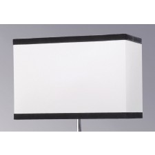 Luis Collection LUI/LS1021 Off White 44cm Rectangular Shade