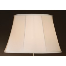 Luis Collection LUI/LS1039 White 46cm Empire Shade