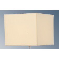 Luis Collection LUI/LS1068 Ivory 30cm Cotton Square Shade