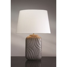 Luis Collection LUI/MUSE GREY Muse Grey Table Lamp