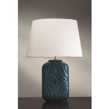 Luis Collection LUI/MUSE TURQSE Muse Turquiose Table Lamp