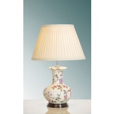 Luis Collection LUI/PINK BLOSSOM Pink Blossoms Table Lamp