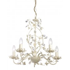 Lullaby Ceiling Light - 5 Light Cream Gold