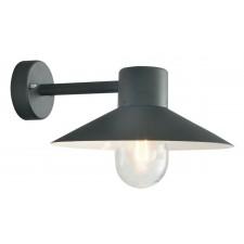 Norlys LUND BLACK C Lund Wall Lantern Black Clear