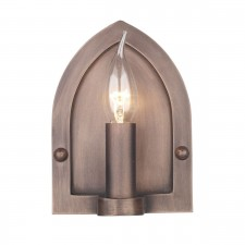 Lindisfarne Wall Light Copper