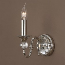 Interiors1900 Polina Nickel Single Wall Light
