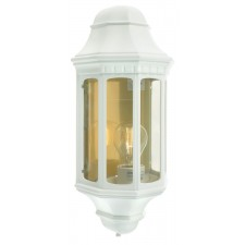 Norlys M8 WHITE Malaga M8 Half Lantern White