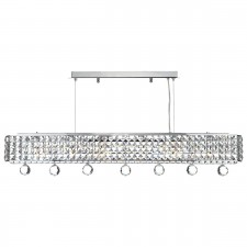 Matrix 6 Light Pendant Polished Chrome