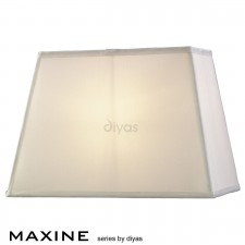 Diyas Maxine Rectangular Shade 1 Light White