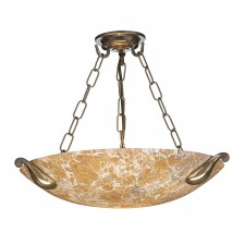 Savoy Light Marble Ceiling Light