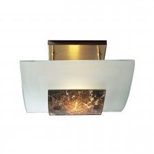 Savoy Dark Marble Ceiling Light