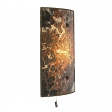 Savoy Dark Marble Wall Light