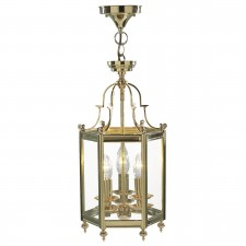 Moorgate Lantern (Dual Mount) - Polished Brass