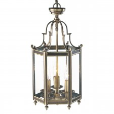 Moorgate Lantern (Dual Mount) - Antique Brass
