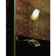 Mosca Table Lamp - 1 Light, Antique Brown