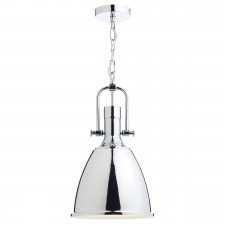 Dar Nolan 1-Light Pendant Chrome