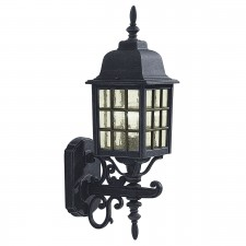 Norfolk Wall Lantern 'Up' - Black