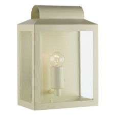 Notary Rectangle Wall Bracket Matt Cream IP44