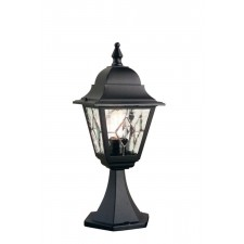 Elstead NR3 BLK Norfolk Pedestal Lantern