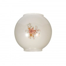 "Oaks Lighting OL/515/G 4"" Floral Oil Style Glass"