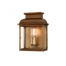 Elstead OLD BAILEY BR Old Bailey Wall Lantern Brass