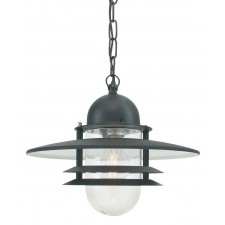 Norlys OS8 BLACK C Oslo Chain Lantern Black Clear