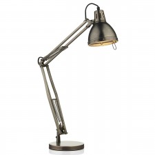 Osaka Table Lamp - Antique Chrome