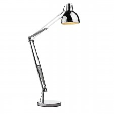 Osaka Floor Lamp Complete Polished Chrome