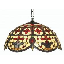 Jessamine Tiffany Ceiling Light - Large Pendant