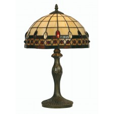 Flute Tiffany Table Lamp - Medium