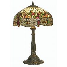 Dragonfly Tiffany Table Lamp - Large