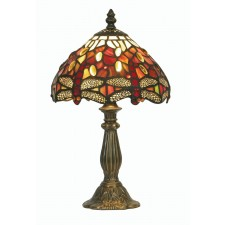 Dragonfly Tiffany Table Lamp - Small